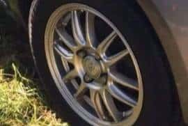 "13"" Rims And Tire, Excellent Condition"