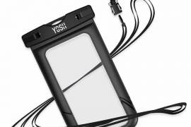 Universal Cell Phone Dry Bag Pouch - Black