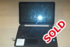 """HP TouchSmart 15"""" Laptop For Sale"""