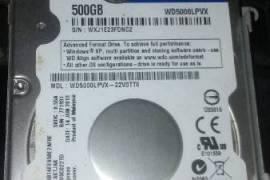 WD 500gb Sata Laptop Hard Drive