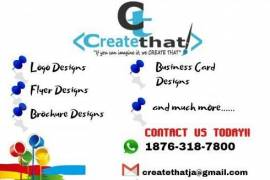 LOGO, FLYERS, BUSINESS CARDS ..WE DESIGN IT ALL